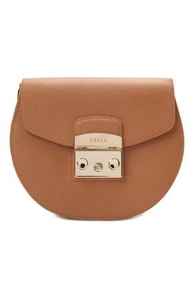 Женская сумка metropolis mini FURLA коричневого цвета, арт. BATJEP0/ARE000   Фото 1