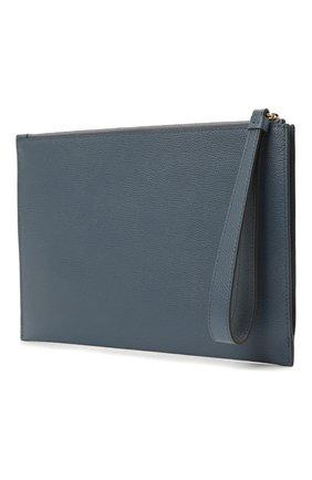 Женские кожаный футляр для документов FURLA голубого цвета, арт. EAX0UNO/ARE000 | Фото 2