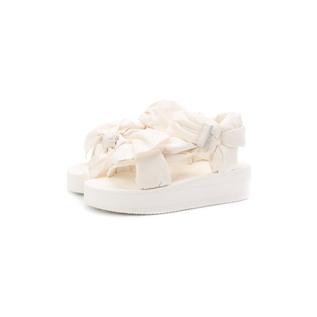 Текстильные сандалии REDVALENTINO