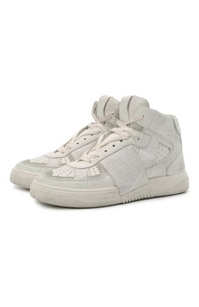 Женские кожаные кроссовки vl7n VALENTINO белого цвета, арт. VW0S0BF5/JTV | Фото 1