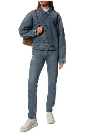 Женские кожаные кроссовки vl7n VALENTINO белого цвета, арт. VW0S0BF5/JTV | Фото 2