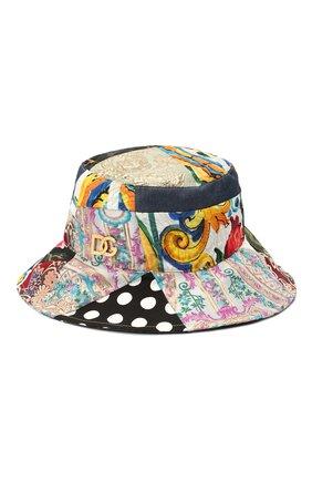 Женская шляпа DOLCE & GABBANA разноцветного цвета, арт. FH641Z/GDX77   Фото 1