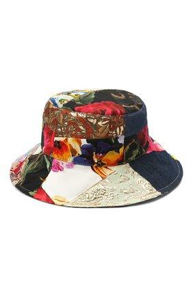 Женская шляпа DOLCE & GABBANA разноцветного цвета, арт. FH641Z/GDX77   Фото 2