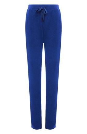 Женские хлопковые брюки TOM FORD синего цвета, арт. PAJ071-FAX830 | Фото 1