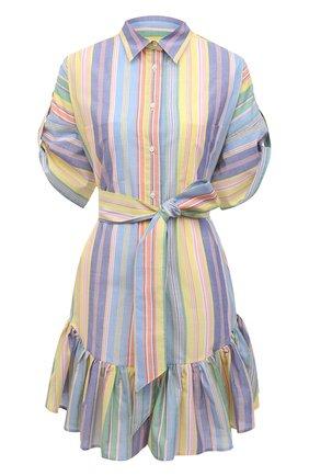 Женское хлопковое платье SARA ROKA разноцветного цвета, арт. CHL0E/07-S21 | Фото 1