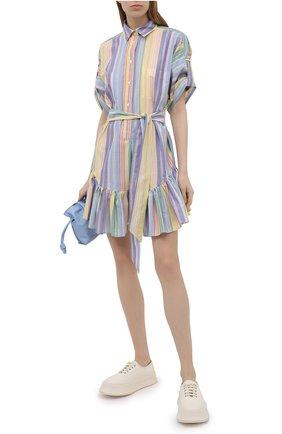 Женское хлопковое платье SARA ROKA разноцветного цвета, арт. CHL0E/07-S21 | Фото 2