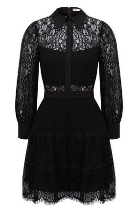 Женское платье ALICE + OLIVIA черного цвета, арт. CC102701530 | Фото 1
