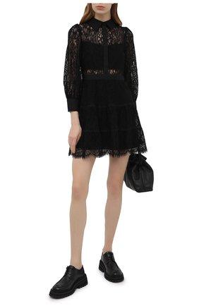 Женское платье ALICE + OLIVIA черного цвета, арт. CC102701530 | Фото 2