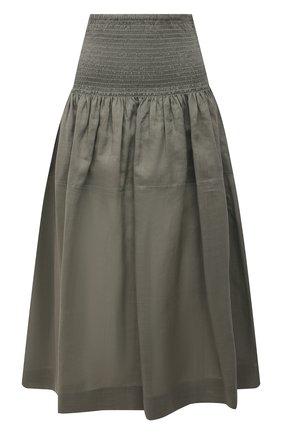 Женская юбка JOSEPH зеленого цвета, арт. JF005348 | Фото 1