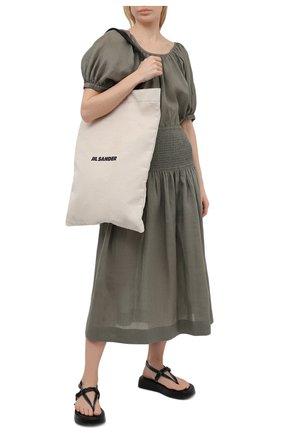 Женская юбка JOSEPH зеленого цвета, арт. JF005348 | Фото 2