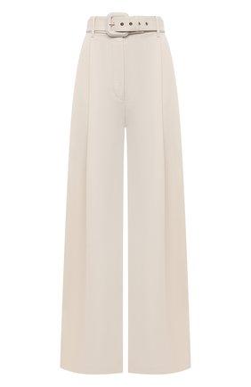 Женские брюки из шерсти и вискозы ZIMMERMANN кремвого цвета, арт. 1031PB0T | Фото 1