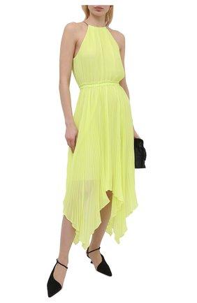 Женское платье MICHAEL MICHAEL KORS желтого цвета, арт. MS18ZY87R3   Фото 2