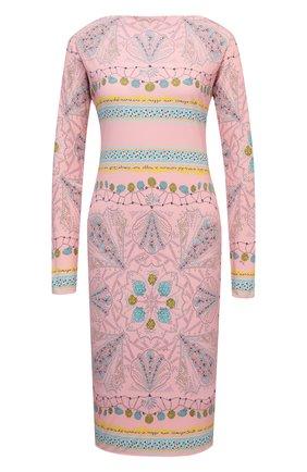 Женское платье из вискозы и шелка EMILIO PUCCI розового цвета, арт. 1HJH40/1H747 | Фото 1