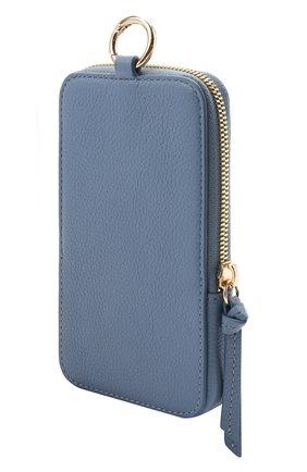 Кожаный чехол для iphone COCCINELLE синего цвета, арт. E2 HJF 17 22 01 | Фото 2
