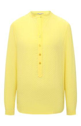 Женская блузка из вискозы STELLA MCCARTNEY желтого цвета, арт. 531885/SRA33 | Фото 1