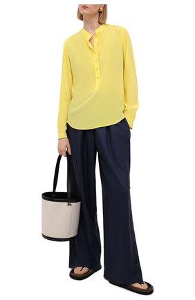 Женская блузка из вискозы STELLA MCCARTNEY желтого цвета, арт. 531885/SRA33 | Фото 2