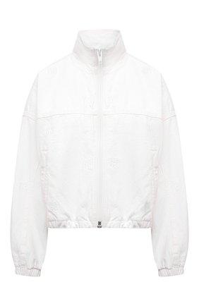 Женская джинсовая куртка DENIM X ALEXANDER WANG белого цвета, арт. 4DC2212932   Фото 1