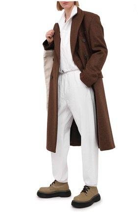Женские джинсы DENIM X ALEXANDER WANG белого цвета, арт. 4DC2214934   Фото 2