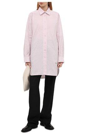 Женская рубашка PHILOSOPHY DI LORENZO SERAFINI светло-розового цвета, арт. A0207/2127 | Фото 2