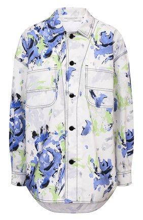 Женская джинсовая рубашка PHILOSOPHY DI LORENZO SERAFINI разноцветного цвета, арт. A0507/2141 | Фото 1