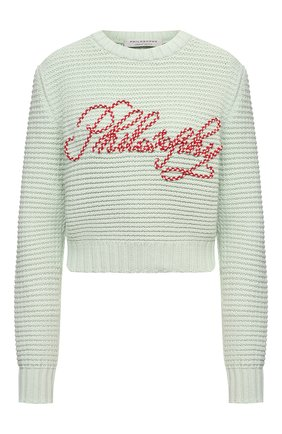 Женский свитер PHILOSOPHY DI LORENZO SERAFINI зеленого цвета, арт. A0908/2101 | Фото 1