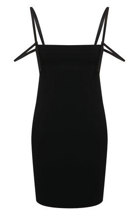 Женское платье из вискозы DSQUARED2 черного цвета, арт. S72CV0168/S48427 | Фото 1