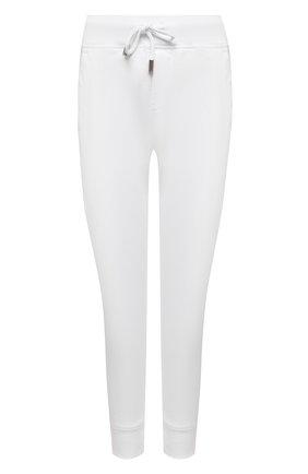 Женские хлопковые джоггеры DSQUARED2 белого цвета, арт. S80KA0012/S25042 | Фото 1