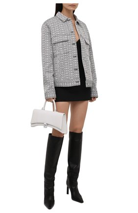 Женская куртка GIVENCHY черно-белого цвета, арт. BW00C313N0 | Фото 2