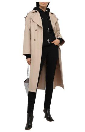 Женские джинсы GIVENCHY черного цвета, арт. BW50QH50MQ | Фото 2