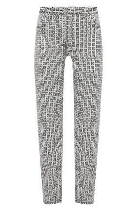 Женские джинсы GIVENCHY черно-белого цвета, арт. BW50QB13N0 | Фото 1