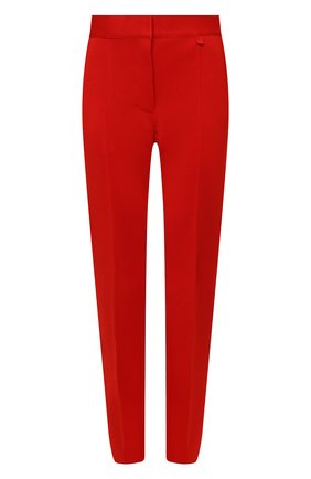 Женские брюки из вискозы GIVENCHY красного цвета, арт. BW50Q44Z9C | Фото 1