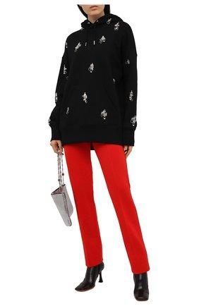 Женские брюки из вискозы GIVENCHY красного цвета, арт. BW50Q44Z9C | Фото 2