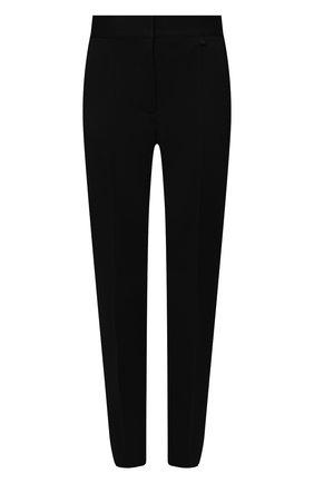 Женские шерстяные брюки GIVENCHY черного цвета, арт. BW50PH13QB | Фото 1