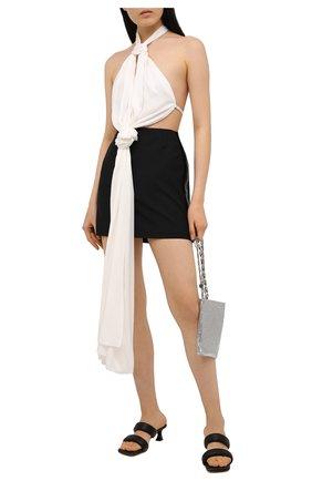 Женская шерстяная юбка GIVENCHY черного цвета, арт. BW40H113QB | Фото 2