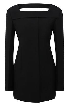 Женский шерстяной жакет GIVENCHY черного цвета, арт. BW30CPG0QS | Фото 1