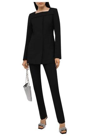 Женский шерстяной жакет GIVENCHY черного цвета, арт. BW30CPG0QS | Фото 2