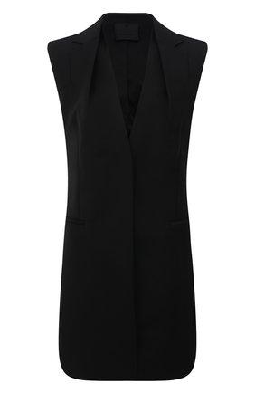 Женское шерстяное платье GIVENCHY черного цвета, арт. BW214513QB | Фото 1