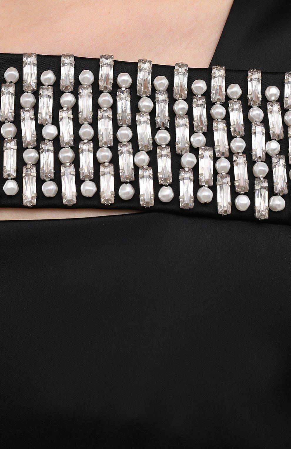 Женское платье из вискозы GIVENCHY черного цвета, арт. BW213TG0QS | Фото 5 (Случай: Коктейльный; Стили: Гламурный; Длина Ж (юбки, платья, шорты): Мини; Материал внешний: Вискоза; Рукава: Без рукавов; Материал подклада: Шелк; Женское Кросс-КТ: Платье-одежда)