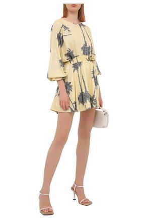 Женское платье с пайетками IN THE MOOD FOR LOVE желтого цвета, арт. CRISSA DRESS | Фото 2