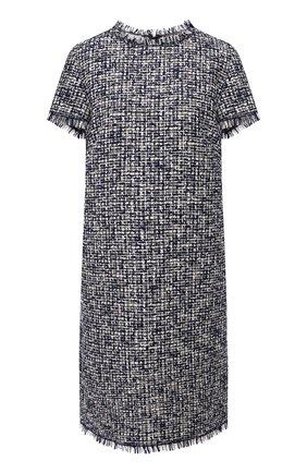 Женское хлопковое платье ESCADA SPORT темно-синего цвета, арт. 5034788 | Фото 1