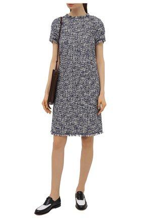 Женское хлопковое платье ESCADA SPORT темно-синего цвета, арт. 5034788 | Фото 2