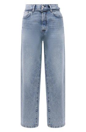 Женские джинсы ACNE STUDIOS голубого цвета, арт. C00025/W | Фото 1