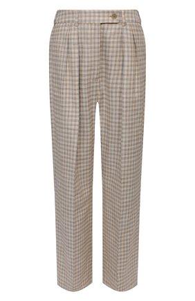 Женские брюки ACNE STUDIOS коричневого цвета, арт. AK0358 | Фото 1