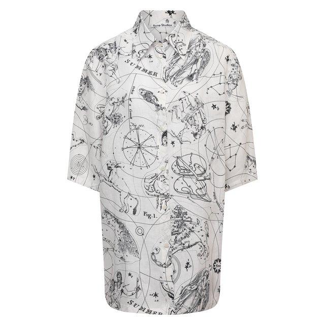 Льняная рубашка Acne Studios