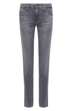 Женские джинсы AG серого цвета, арт. AHD1389/SHLN/MX   Фото 1
