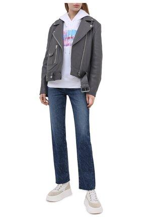 Женские джинсы AG синего цвета, арт. LED1979RH/STRF/MX   Фото 2