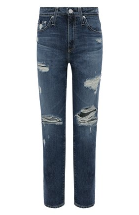 Женские джинсы AG синего цвета, арт. LGN1676/08YBEW/MX | Фото 1