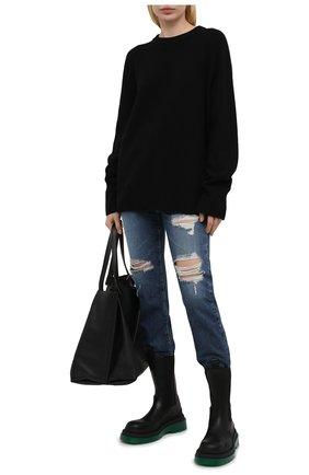 Женские джинсы AG синего цвета, арт. LGN1676/08YBEW/MX | Фото 2