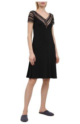 Женская сорочка RITRATTI MILANO черного цвета, арт. 72463 | Фото 2