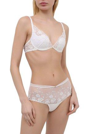 Женские трусы-шорты RITRATTI MILANO белого цвета, арт. 72502 | Фото 2